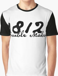 1812 Black Ink Graphic T-Shirt