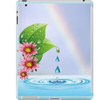 Water droplets (6432  Views) iPad Case/Skin
