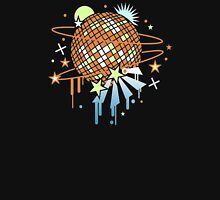 Disco ball Womens Fitted T-Shirt