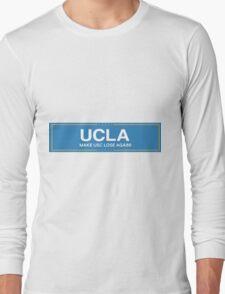 ucla trump Long Sleeve T-Shirt