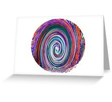 Finding the Wave - Abstract Greeting Card
