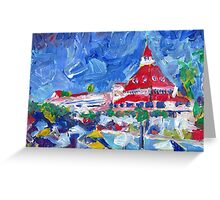Hotel Del Coronado Picture San Diego California Greeting Card