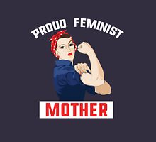 Proud Feminist Mother Womens Fitted T-Shirt