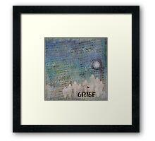 Grief Framed Print