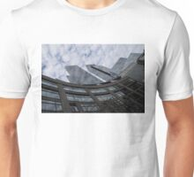 Hugging Columbus Circle - Curved New York Skyscrapers Unisex T-Shirt