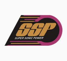 Kenner SSP Racers! Super Sonic Power! Kids Tee