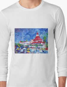 Hotel Del Coronado Picture San Diego California Long Sleeve T-Shirt