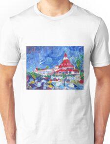 Hotel Del Coronado Picture San Diego California Unisex T-Shirt