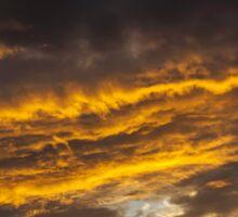Vivid Illuminated Sky Sticker