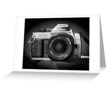 Canon Hybrid AE-1/ Rebel XT (F/DSLR) Greeting Card