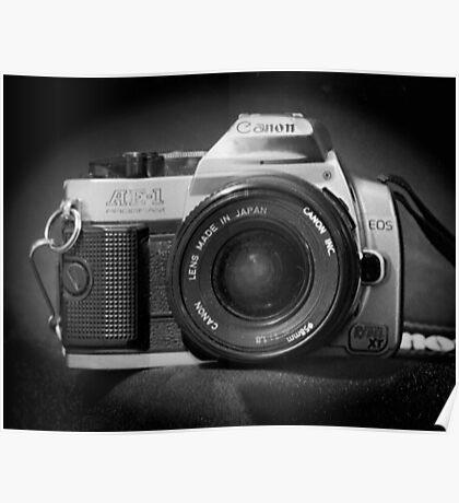 Canon Hybrid AE-1/ Rebel XT (F/DSLR) Poster