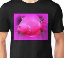 pink tropical fish Unisex T-Shirt