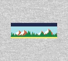 Twin Peaks Sheriff Department Mountain Border Long Sleeve T-Shirt