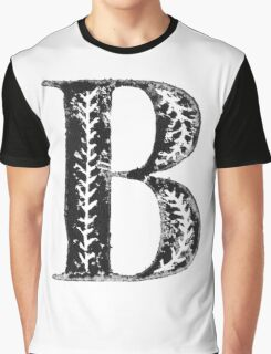 Serif Stamp Type - Letter B Graphic T-Shirt