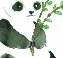 cute ink panda Sticker