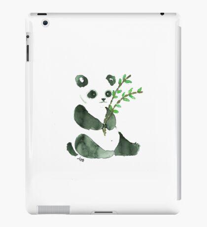 cute ink panda iPad Case/Skin