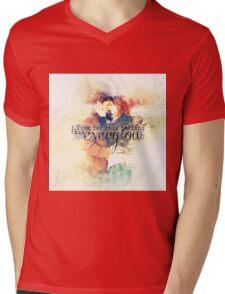 Everglow Mens V-Neck T-Shirt