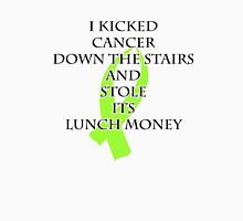 Cancer Bully (Lime Green Ribbon) Womens Fitted T-Shirt