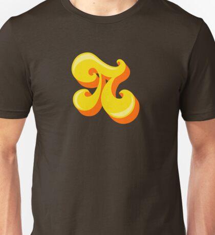Retro-Flavored Pi Unisex T-Shirt