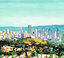 San Francisco Sunshine, San Francisco Skyline Picture by RDRiccoboni