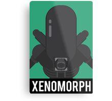 Xenomorph Metal Print
