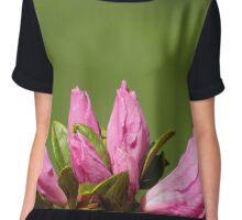 Buds Of Flowers Women's Chiffon Top