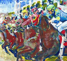 And Theyre Off! Horse Racing Picture by RDRiccoboni