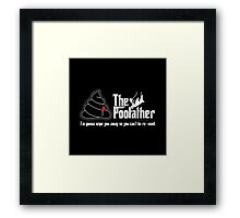 The Poofather Framed Print