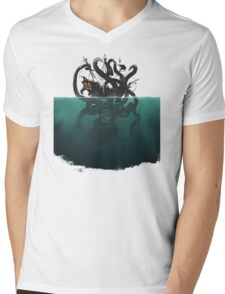 Octopus  Mens V-Neck T-Shirt