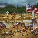 Desert Cemetery by Randy Turnbow