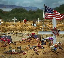 Desert Cemetery by Randy Turnbow