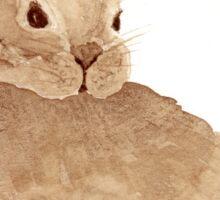 Coffee Bunny 1 Sticker