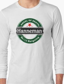 JEFF Hanneman BLACK ANGEL OF DEATH STILL REIGNING Long Sleeve T-Shirt