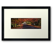 Autumn Splendour- The HDR Experience Framed Print