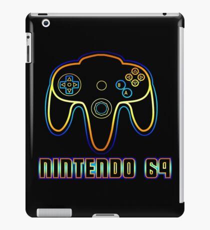 N64 Neon iPad Case/Skin
