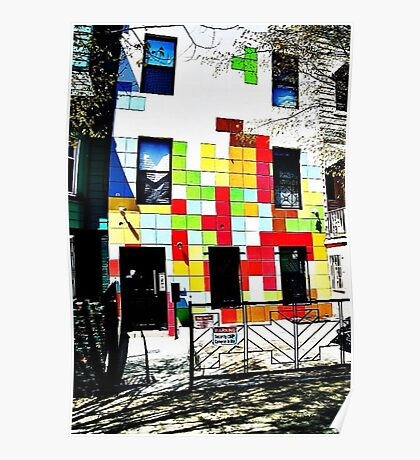 The Tetris Apartment Poster