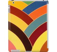 modern chic multi-colored chevron iPad Case/Skin