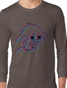 2-D in 3-D Long Sleeve T-Shirt
