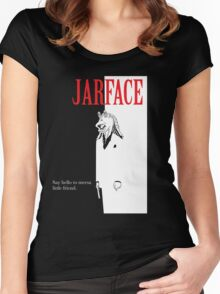 JARFACE Women's Fitted Scoop T-Shirt