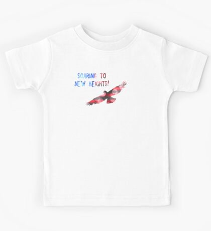 SOARING TO NEW HEIGHTS Kids Tee