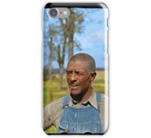 """Negro tenant farmer"" in Jefferson County, Kansas, 1938. iPhone Case/Skin"