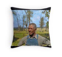 """""""Negro tenant farmer"""" in Jefferson County, Kansas, 1938. Throw Pillow"""