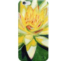 Yellow Waterlily iPhone Case/Skin