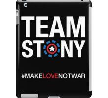 Team Stony - Love Not War iPad Case/Skin