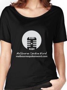Melbourne Spoken Word Logo Women's Relaxed Fit T-Shirt