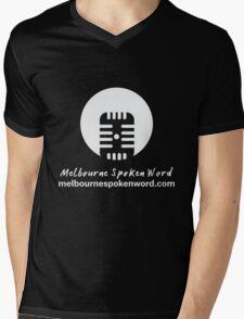 Melbourne Spoken Word Logo Mens V-Neck T-Shirt