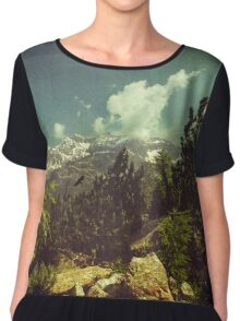 Italian Mountains Chiffon Top