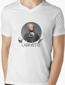 Lafayette Guns and Ships Mens V-Neck T-Shirt