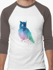 night owl Men's Baseball ¾ T-Shirt