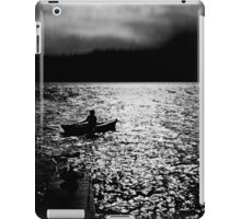 BANTAM LAKE EVENING WITH RAIN IN THE HILLS iPad Case/Skin